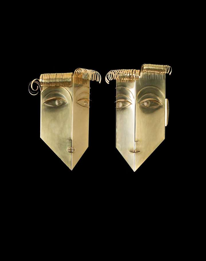 MALE AND FEMALE WALL MASK