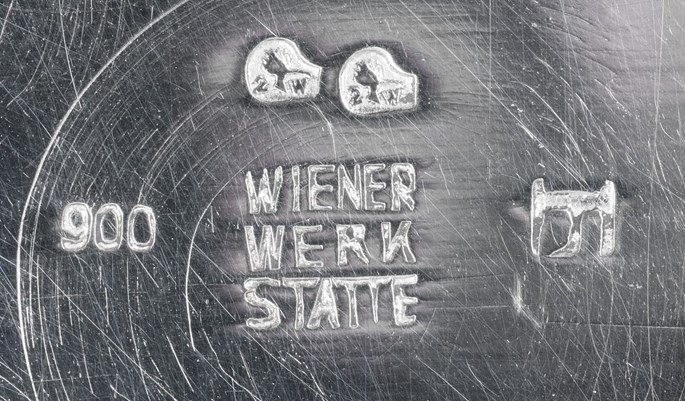 Josef Hoffmann / Wiener Werkstätte - SILVER COFFEE POT   MasterArt