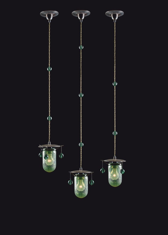 Koloman Moser - THREE PENDANT LIGHTS | MasterArt