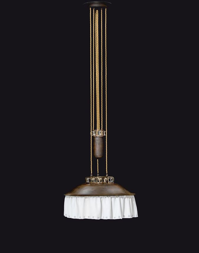 Josef  Hoffmann - ADJUSTABLE CHANDELIER | MasterArt
