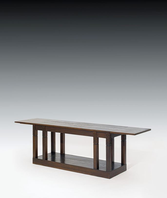 Josef  Hoffmann - TABLE with two folding extensions | MasterArt