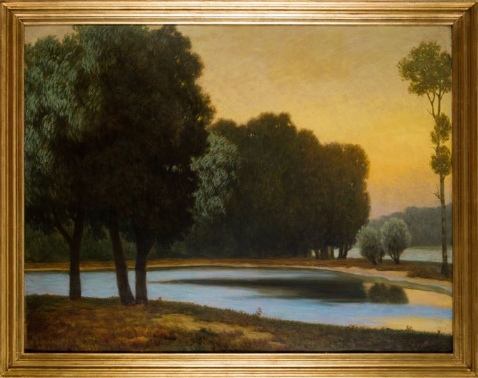 Eduard Kasparides - RIVERSCAPE | MasterArt