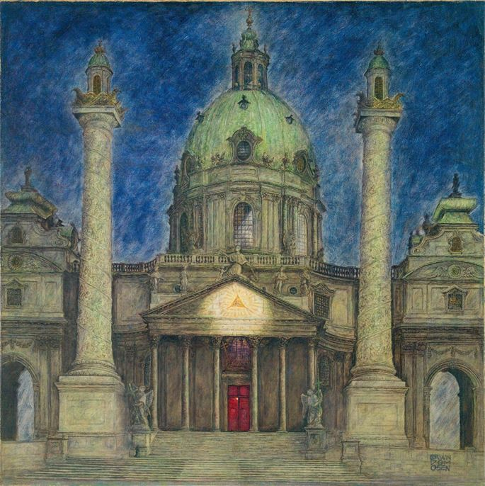 Erwin Dominik Osen - SAINT CHARLES CHURCH IN VIENNA | MasterArt