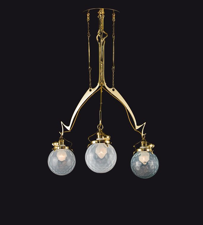 THREE-BULB CHANDELIER | MasterArt