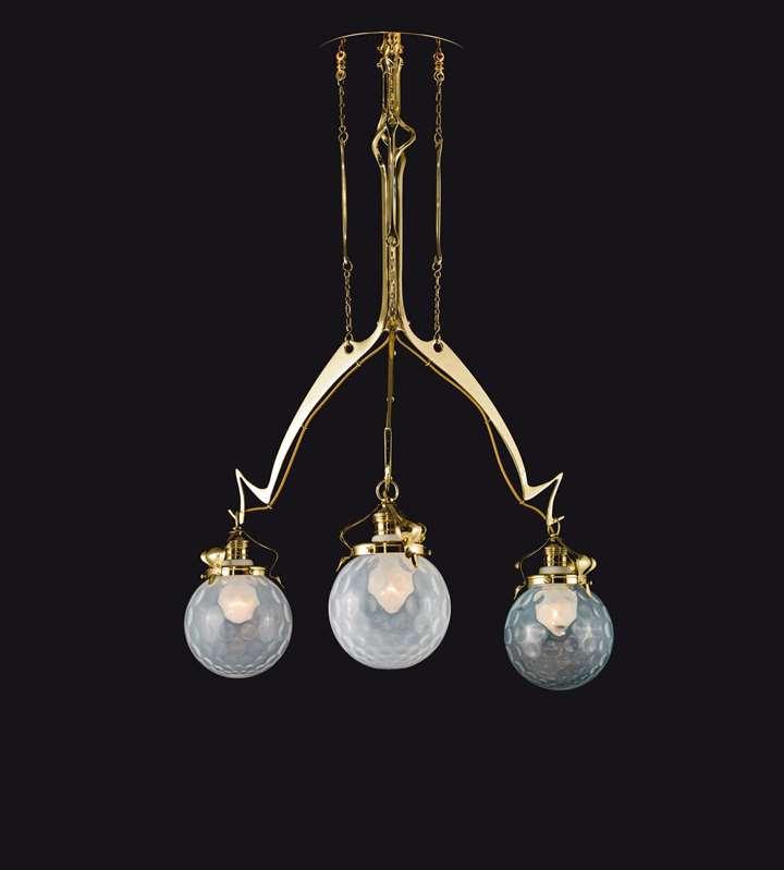 THREE-BULB CHANDELIER