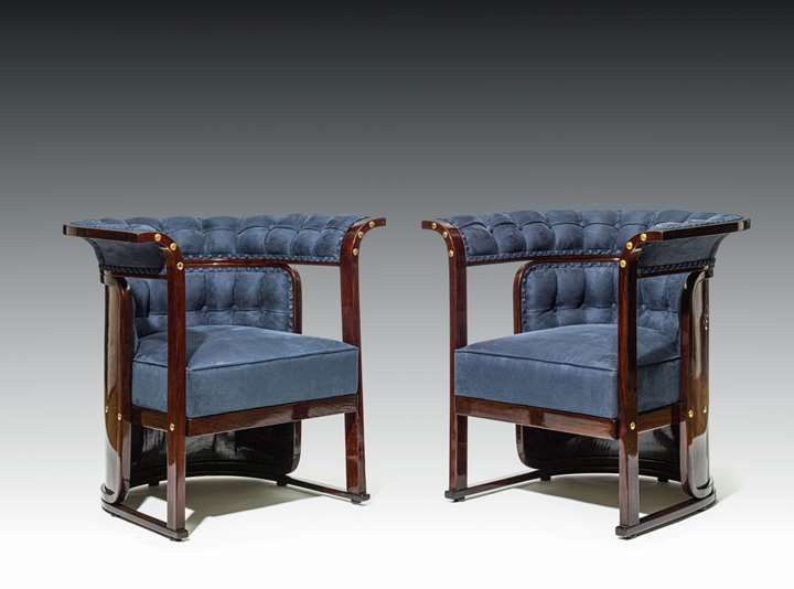 "A PAIR OF ARMCHAIRS known as ""Buenos Aires"" armchairs"