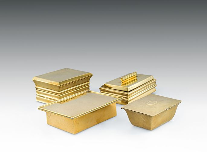 Josef  Hoffmann - FOUR CIGARETTE BOXES | MasterArt