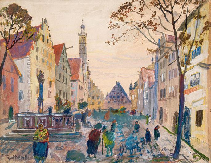 Oskar Laske - ROTHENBURG OB DER TAUBER | MasterArt