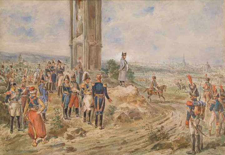 NAPOLEON IN FRONT OF VIENNA