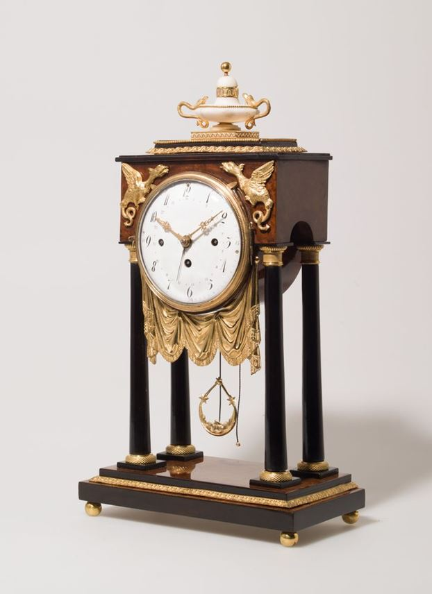 EMPIRE MANTLEPIECE CLOCK | MasterArt