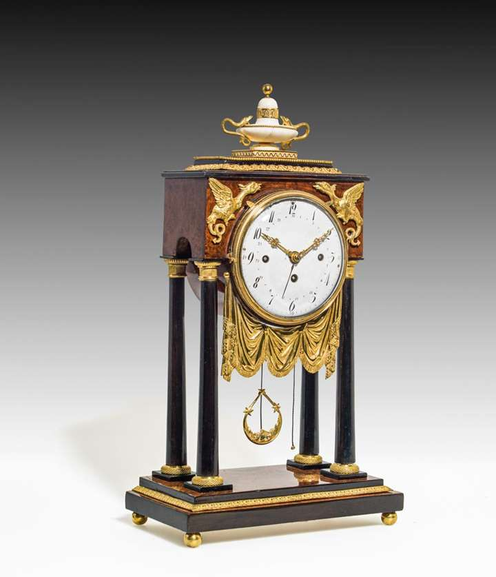 EMPIRE MANTLEPIECE CLOCK