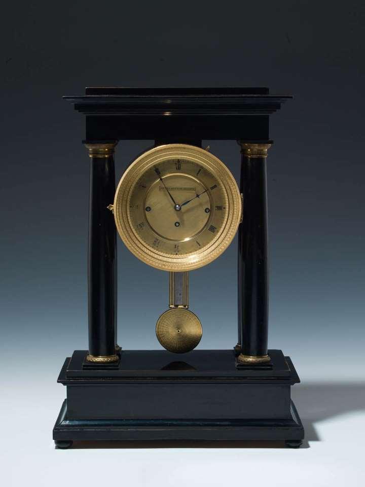BIEDERMEIER MANTLE CLOCK
