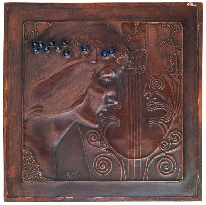 "RELIEF PANEL ""SAPPHO"""