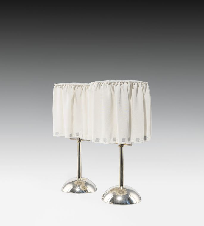 Josef  Hoffmann - A PAIR OF TABLE LAMPS | MasterArt