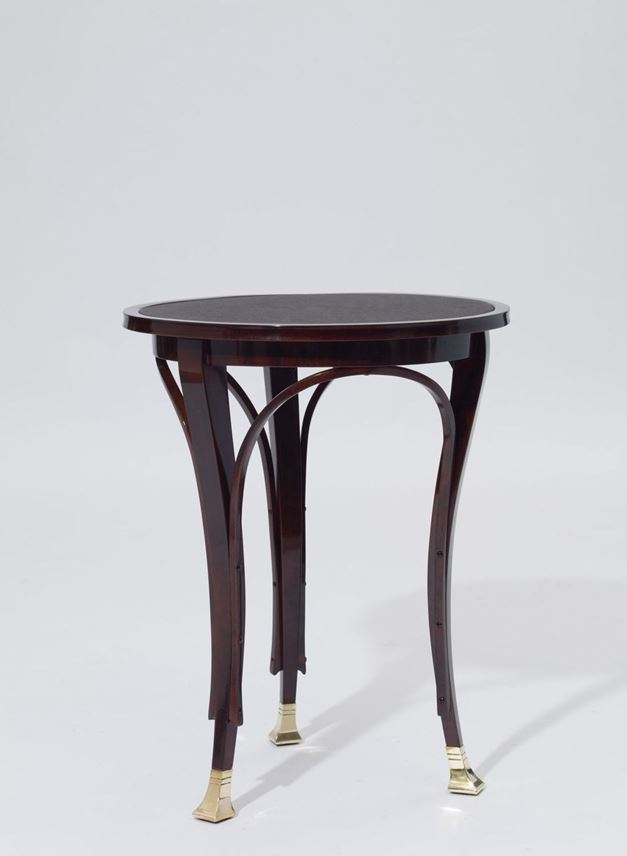 Gustav Siegel - THREE-LEGGED SIDE TABLE | MasterArt