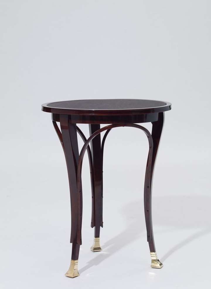THREE-LEGGED SIDE TABLE