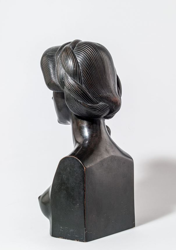 Adolf Josef Pohl - BUST OF A WOMAN | MasterArt