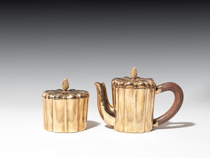Josef  Hoffmann - COFFEEPOT AND COVERED SUGAR BOWL | MasterArt