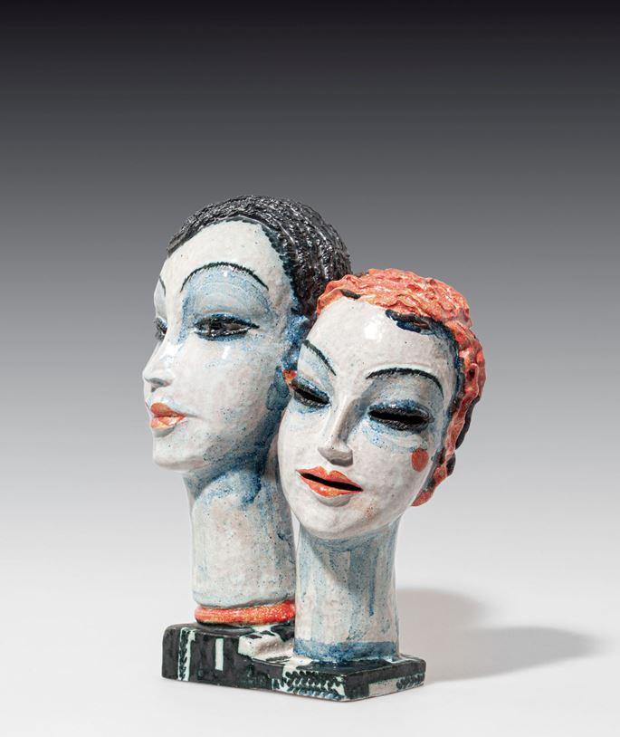Gudrun Baudisch - DOUBLE HEAD | MasterArt