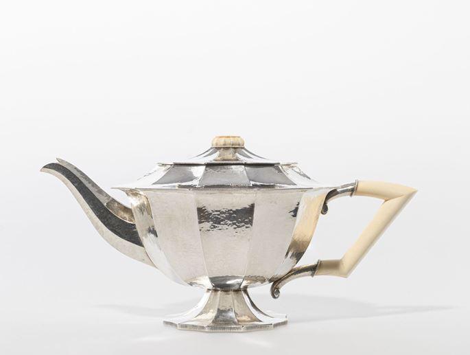 Josef  Hoffmann - SILVER TEA SET | MasterArt