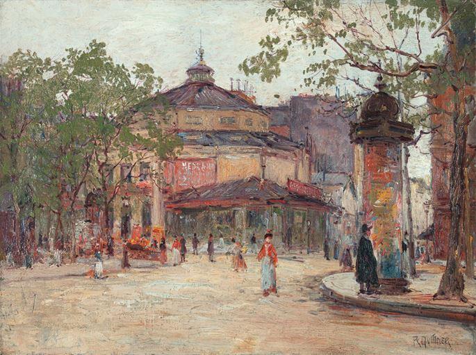 Rudolf Quittner - CIRQUE MEDRANO, PARIS 63 Boulevard de Rochechouart/Rue des Martyrs | MasterArt