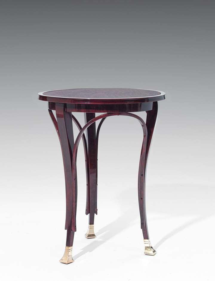 THREE-LEGGED SIDE TABLE