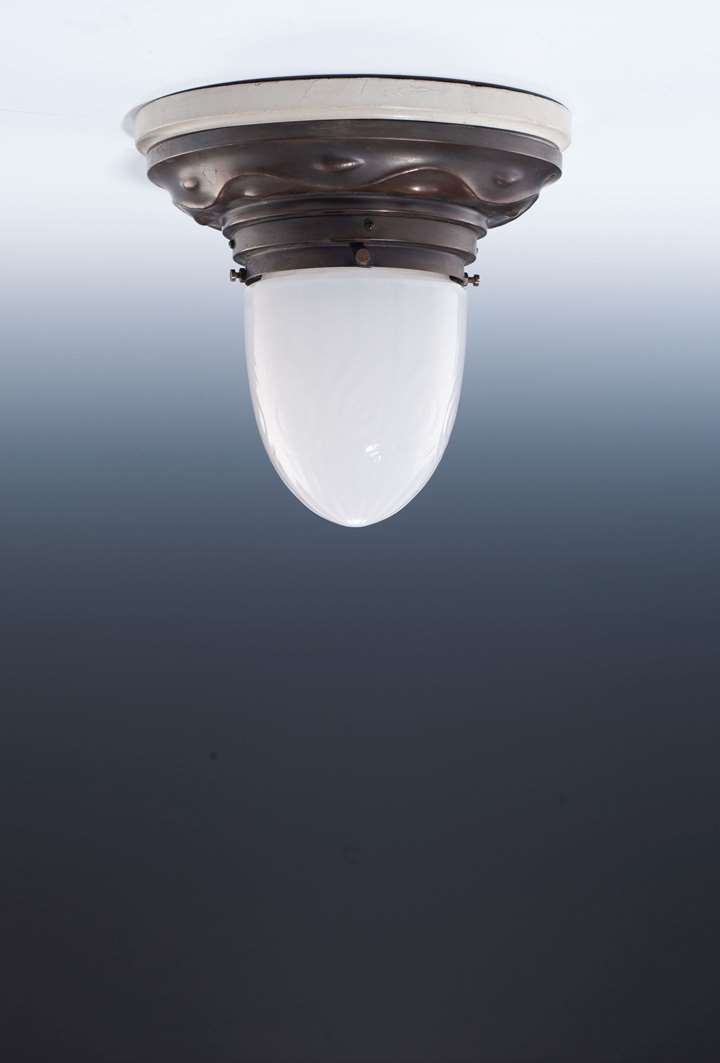 A SMALL CEILING LAMP