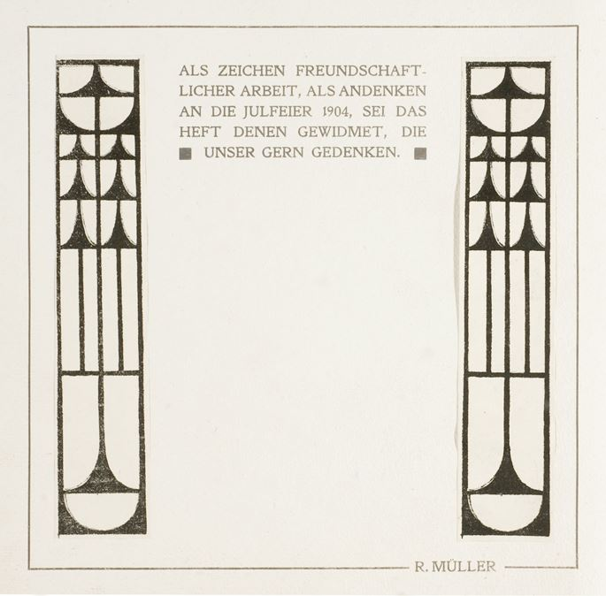 JULFEIER 1904 | MasterArt