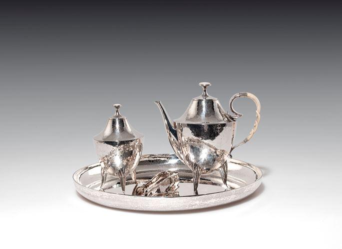 Josef Hoffmann / Wiener Werkstätte - SILVER COFFEE SET | MasterArt