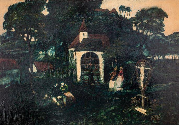 Ernst Huber  - Chapel in Drosendorf | MasterArt