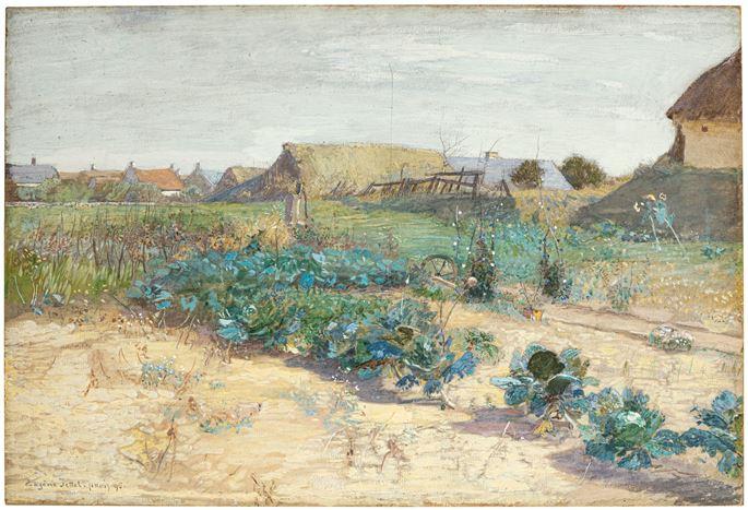 Eugen Jettel - Kitchen Garden near Cayeux-sur-Mer   MasterArt