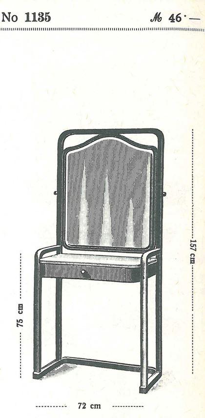 Josef  Hoffmann - Dressing table | MasterArt