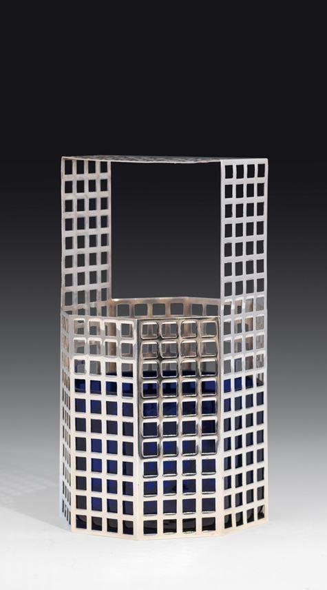 Josef  Hoffmann - A latticework vase   MasterArt