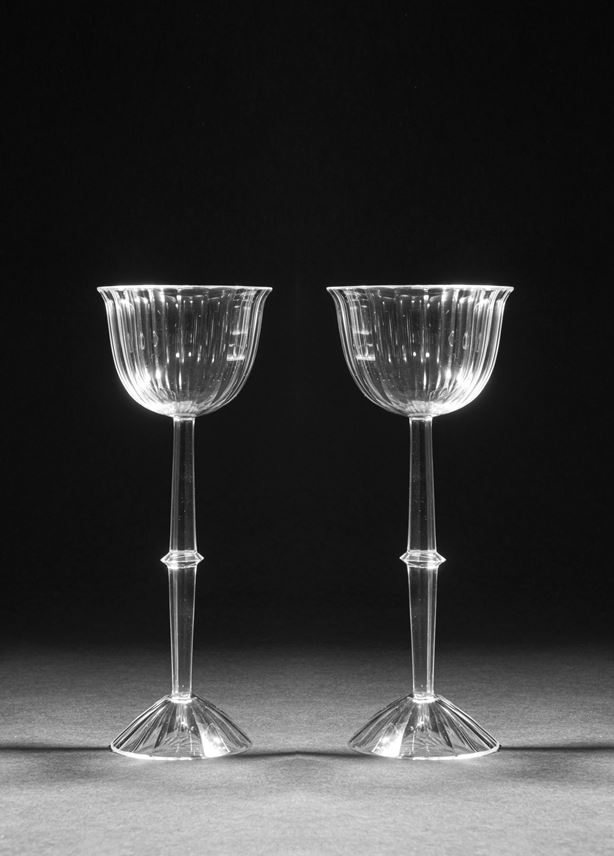 Josef  Hoffmann - A PAIR OF STEM GLASSES | MasterArt