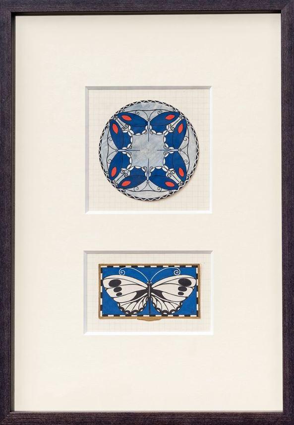 Josef Gabriel - DESIGNS FOR ENAMELS - WORKS FROM THE KUNSTGEWERBESCHULE, 1911–1914   MasterArt