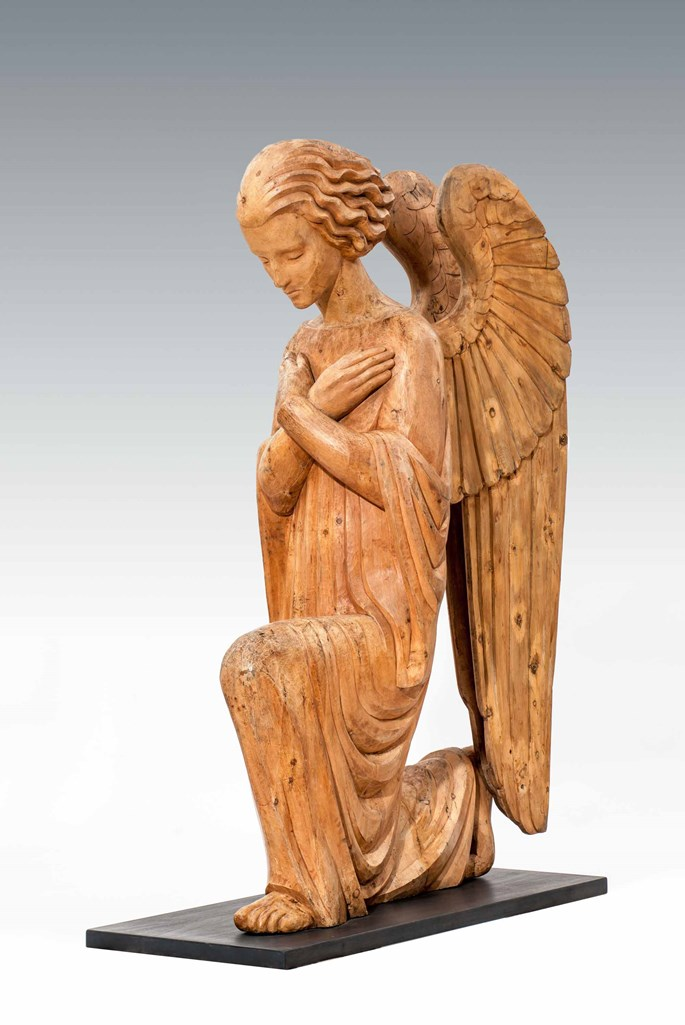 A Pair of Extraordinary Angels from Neulerchenfeld Parish, Vienna | MasterArt