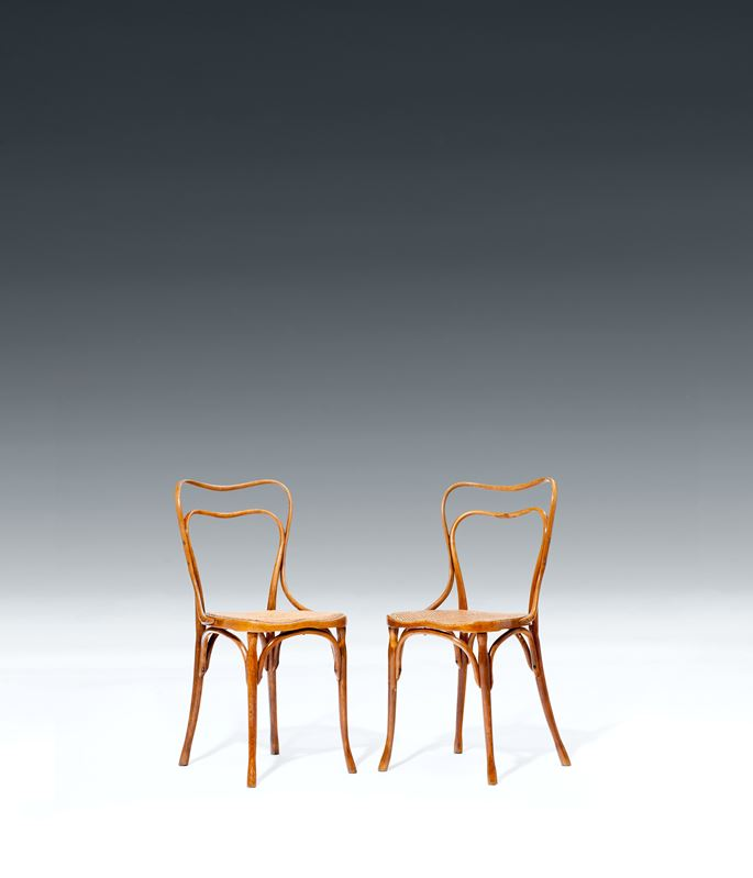 Adolf Loos - A PAIR OF CHAIRS FOR THE CAFE MUSEUM | MasterArt