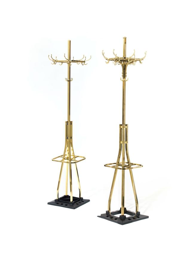Adolf Loos - A PAIR OF COAT AND HAT STANDS designed for the café Capua, Vienna  | MasterArt