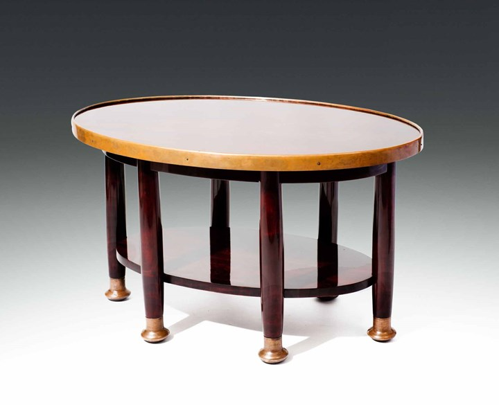 "Large Oval ""Haberfeld"" Table"
