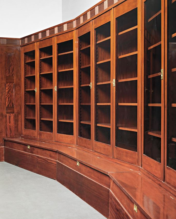 Adolf Loos - PRESTIGIOUS GLASS-FRONTED LIBRARY  | MasterArt