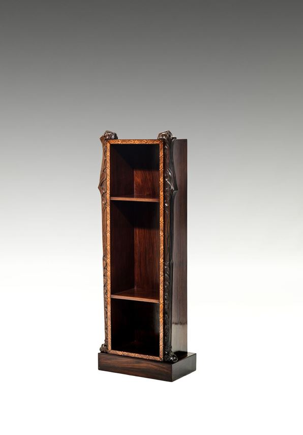 Bernhard Ludwig - SUITE OF FURNITURE  Consisting of: bookcase, étagère, side table  | MasterArt