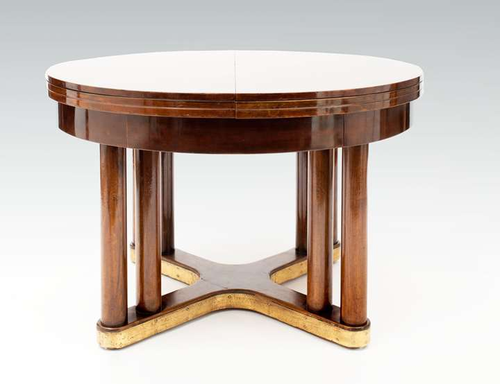 Extraordinary Round Extending Dining Table