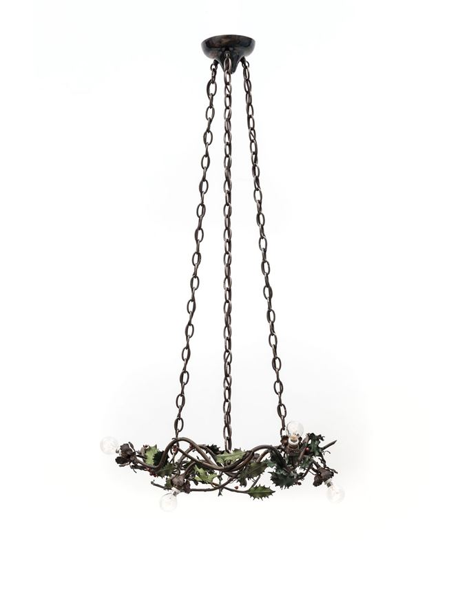 FIVE-BULB HOLLY CHANDELIER | MasterArt