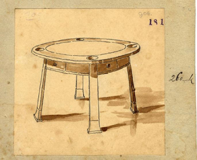 Friedrich Otto Schmidt - GAMING TABLE A LA LOOS | MasterArt