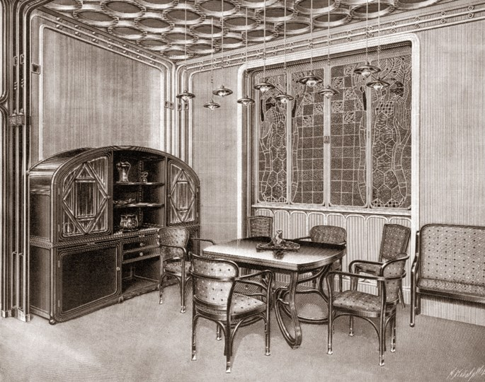 Gustav Siegel / J. & J. Kohn - Cabinet | MasterArt