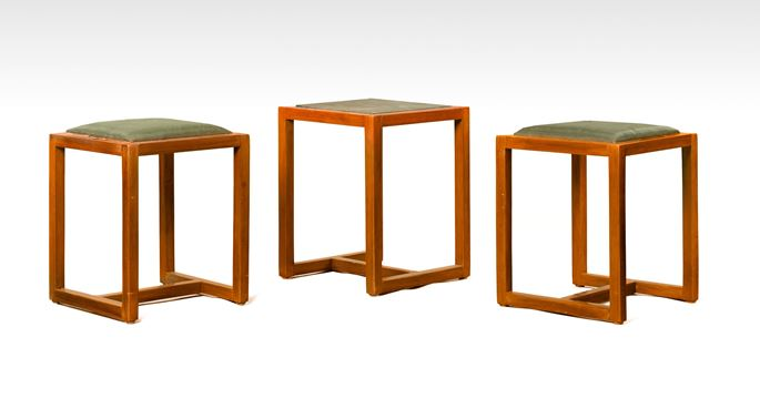Hans Ofner - Two Stools, a Small Table | MasterArt