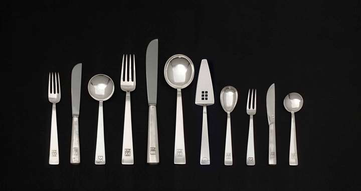 181-Pice Set of Silver Cutlery