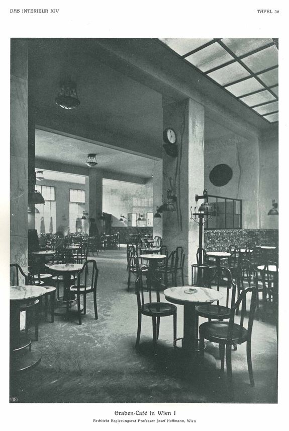 Josef Hoffmann / J. & J. Kohn - A Coat and Hat Stand for the Graben-Café in Vienna | MasterArt