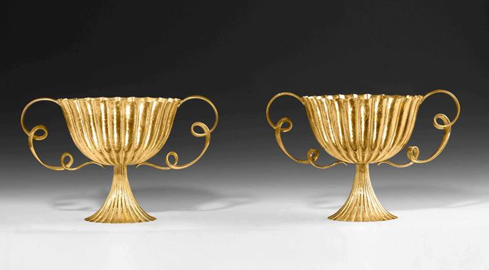 Josef  Hoffmann - A PAIR OF LOOP HANDLED CENTREPIECES | MasterArt