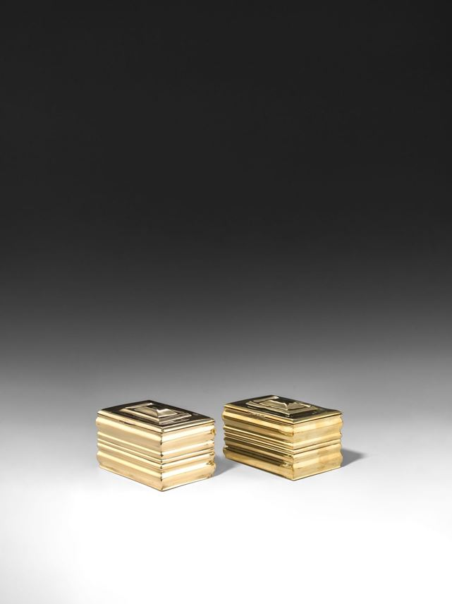 Josef  Hoffmann - A PAIR OF CIGARETTE BOXES | MasterArt